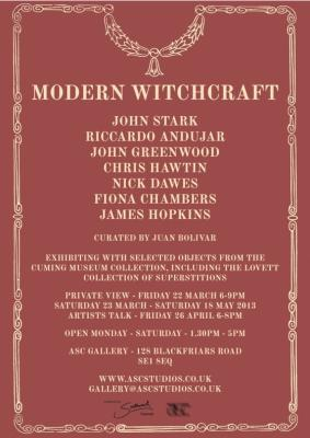 Modern Witchcraft @ the ACS Gallery